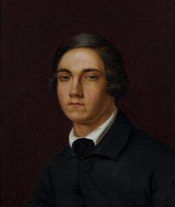 Adeline Jaeger: Bildnis des Franz Grashof, o.J.