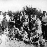 Am Oberkasseler Strandbad, ca. 1923
