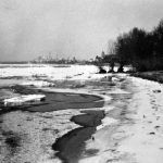 Eisgang auf dem Rhein, ca. 1930