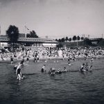 Neues Strandbad Oberkassel 1929