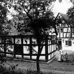 V005 | Altes Fachwerkhaus im Broich (Berghovener Straße), Haus Sadee, Ende der 1930er Jahre abgerissen für Neubau Karl Duwe (Langemarckstraße)