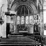 V016 | Alte Innenansicht der katholischen Kirche, vor 1934