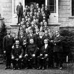 V026 | Kaplan Neu mit dem Jünglingsverein, 1910