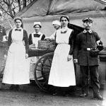 V034 | Eine Sanitätskolonne im Kriege, ca. 1914-1916