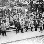 V048 | Hubertusschützen bei einer Feier mit König Fuhrbach