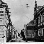 V075 | Königswinterer Straße, rechts altes kaiserliches Postamt, links Wirtschaft Elias an der Baumstraße