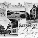 V076 | Ansichtskarte von Oberkassel, ca. 1899