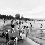 So ging es am Rhein zu, ehe das Strandbad eingerichtet wurde