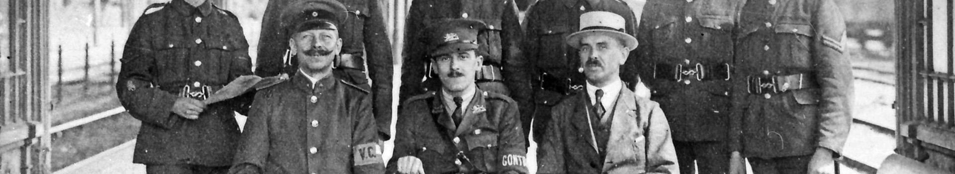 Kriegsende 1918 in Oberkassel