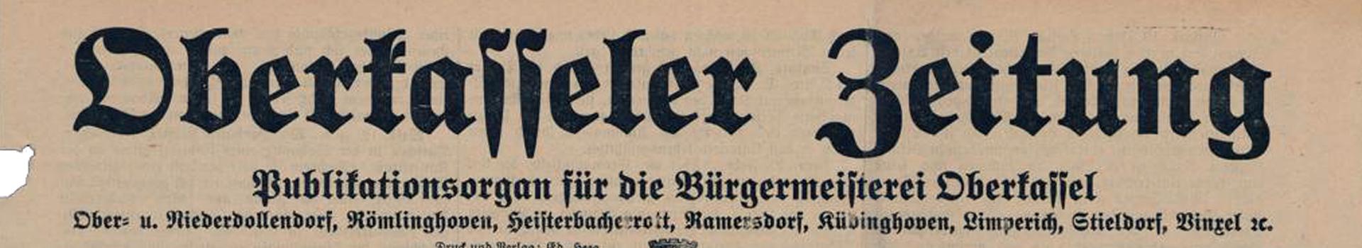 Oberkasseler Zeitung