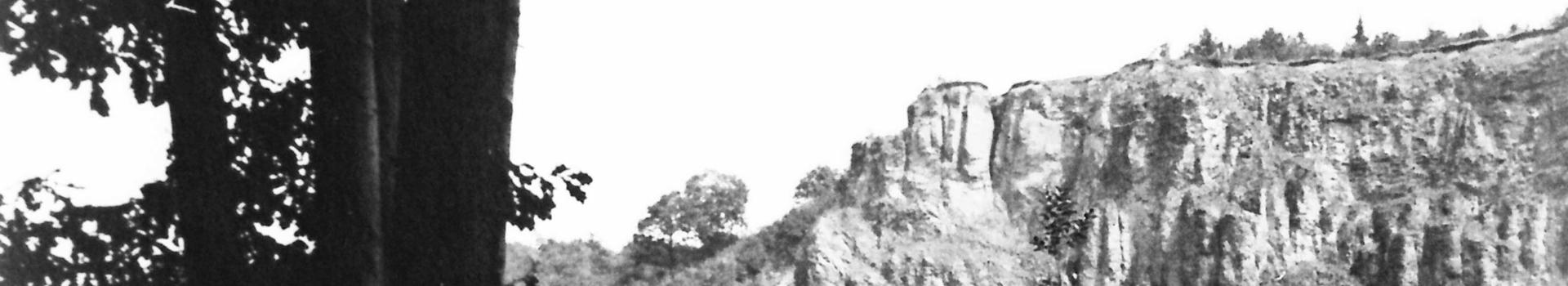 Bergrutsch an der Rabenley