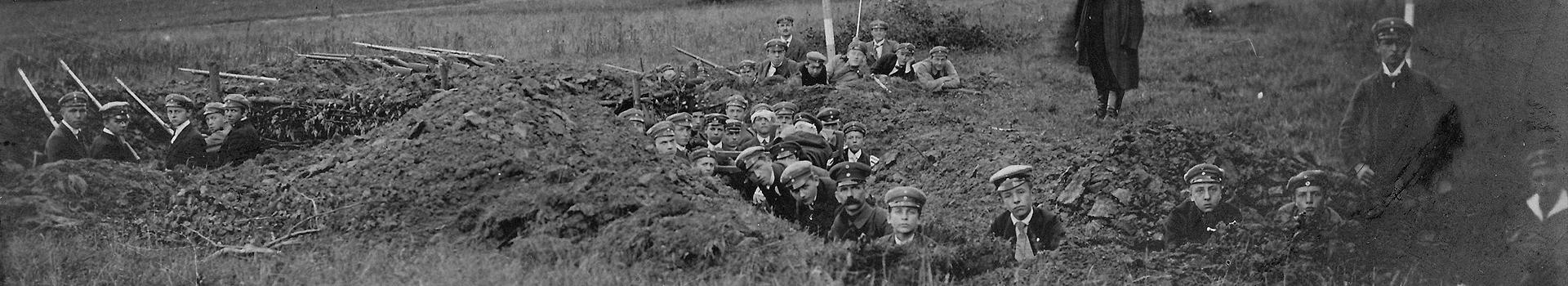 Kriegsbeginn 1914 in Oberkassel